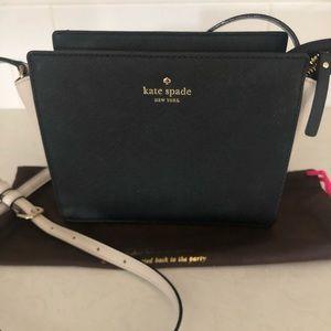Kate spade leather cross body purse